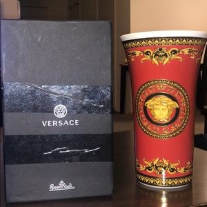 Versace Accents - Versace vase 10 1/4 inch